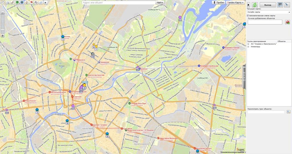 GPS слежение за автотранспортом