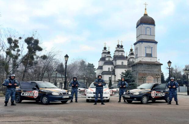 охрана Новомосковск